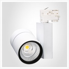 LED Track Light 56 W Spot, white, 3000 K